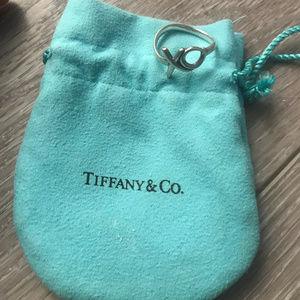 Tiffany & Co. Xo Kisses & Love Ring (Size 7)